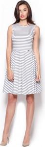 Sukienka Figl w stylu casual mini z bawełny