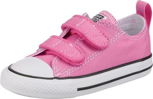 Różowe trampki dziecięce Converse na rzepy