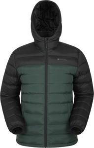 Zielona kurtka Mountain Warehouse krótka z tkaniny