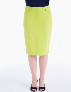 Zielona spódnica POTIS & VERSO z tkaniny