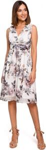 Sukienka Stylove z dekoltem w kształcie litery v midi