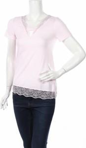 Różowa bluzka Teccia w stylu casual
