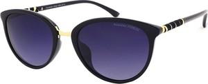 Granatowe okulary damskie Prius Polarized