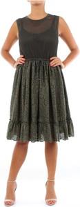 Zielona sukienka D.exterior bez rękawów