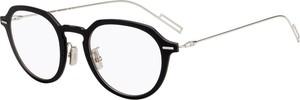 Czarne okulary damskie Dior