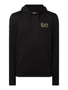 Czarna bluza Emporio Armani z bawełny
