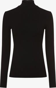 Czarny t-shirt EDITED z długim rękawem w stylu casual