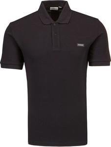 Koszulka polo Napapijri z tkaniny z krótkim rękawem w stylu casual