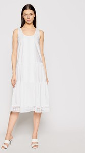 Sukienka Twinset z okrągłym dekoltem na ramiączkach
