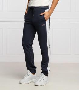 Niebieskie spodnie sportowe Fila w sportowym stylu z dresówki
