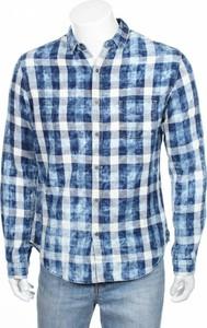 Niebieska koszula Ikks z długim rękawem