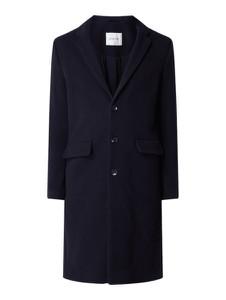 Granatowy płaszcz męski American Vintage