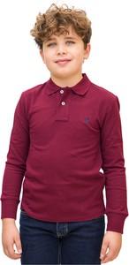Czerwona koszulka dziecięca POLO RALPH LAUREN