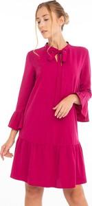 Różowa sukienka Jimmy Sanders mini