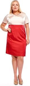 Sukienka Fokus z okrągłym dekoltem ołówkowa