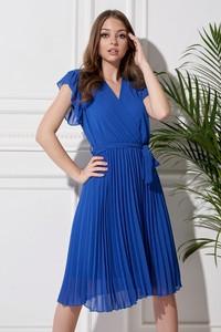 Sukienka Ella Boutique z dekoltem w kształcie litery v midi