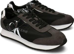 Calvin Klein Jeans Jester - Sneakersy Męskie - B4S0655 BLACK/GRAY