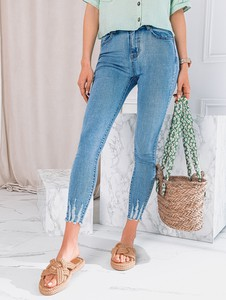 Spodnie Edoti z jeansu