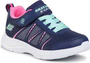Buty sportowe dziecięce Skechers na rzepy