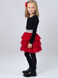 Czerwona spódniczka dziewczęca Jomar