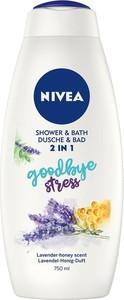 Nivea Shower & Bath płyn do kąpieli i żel pod prysznic 2w1 Goodbye Stress 750ml