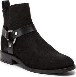 Czarne botki Gant na zamek