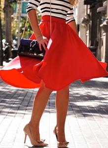 Czerwona spódnica Cikelly mini