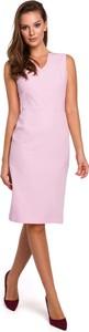 Sukienka Makeover bez rękawów ołówkowa
