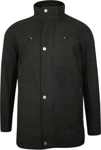 Czarna kurtka Zanardi Trade w stylu casual