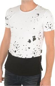 T-shirt Goldenim Paris z krótkim rękawem w młodzieżowym stylu z nadrukiem