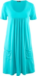 Bonprix bpc bonprix collection sukienka shirtowa, krótki rękaw