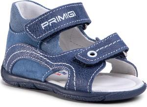 Niebieskie buty dziecięce letnie eobuwie.pl na rzepy