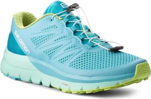 Buty sportowe Salomon z płaską podeszwą sznurowane
