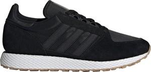 Buty sportowe Adidas Originals sznurowane w sportowym stylu z nubuku