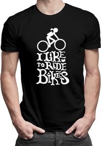 T-shirt Koszulkowy z bawełny z nadrukiem