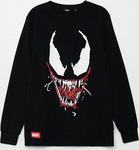 Czarna koszulka dziecięca Cropp