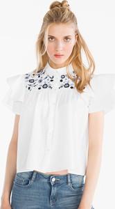 Bluzka CLOCKHOUSE ze stójką w młodzieżowym stylu