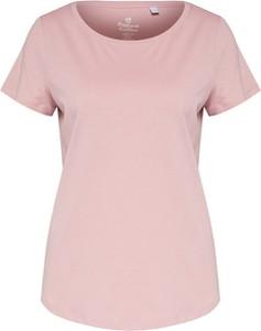Różowa bluzka Esprit z bawełny