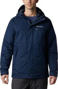 Niebieska kurtka Columbia w sportowym stylu krótka
