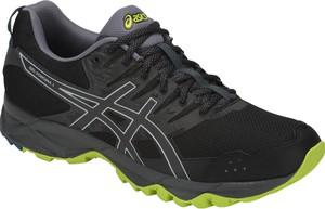 Czarne buty sportowe ASICS w sportowym stylu