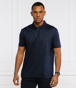 Koszulka polo Hugo Boss z krótkim rękawem w stylu casual