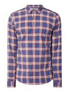 Granatowa koszula S.Oliver Red Label z bawełny w stylu casual z długim rękawem
