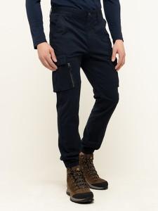 Granatowe spodnie Superdry