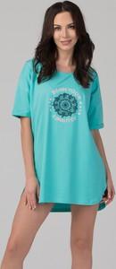 T-shirt rossli z bawełny z nadrukiem