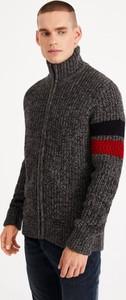 Sweter Diverse w stylu casual z wełny