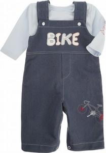 Granatowa koszulka dziecięca Ewa Collection dla chłopców