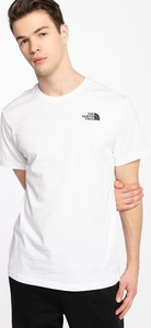 T-shirt The North Face z bawełny z krótkim rękawem