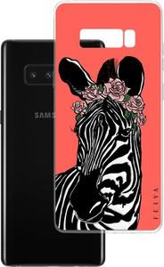Etui amortyzujące uderzenia do Samsung Galaxy Note 8, z unikatową grafiką 3D ferya ZEBRA