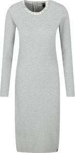 Sukienka Superdry z okrągłym dekoltem