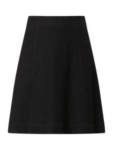 Czarna spódnica Christian Berg Women mini z wełny
